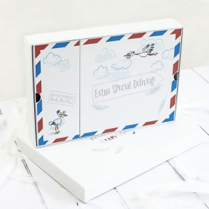 """MUM To Be """" THE ULTIMATE STORK MAIL  GIFT  SET"""""""