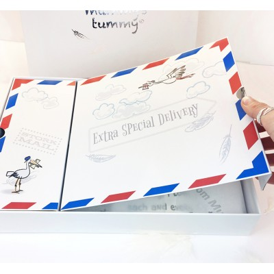 """Dad To Be """" THE ULTIMATE STORK MAIL  GIFT  SET"""""""