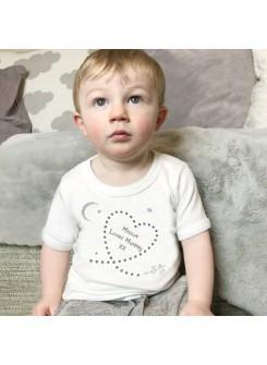 Written In The Stars Mummy personalised Babygrow, T Shirt