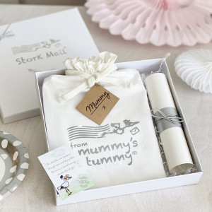 Gift For Mummy Delivered By Stork Mail